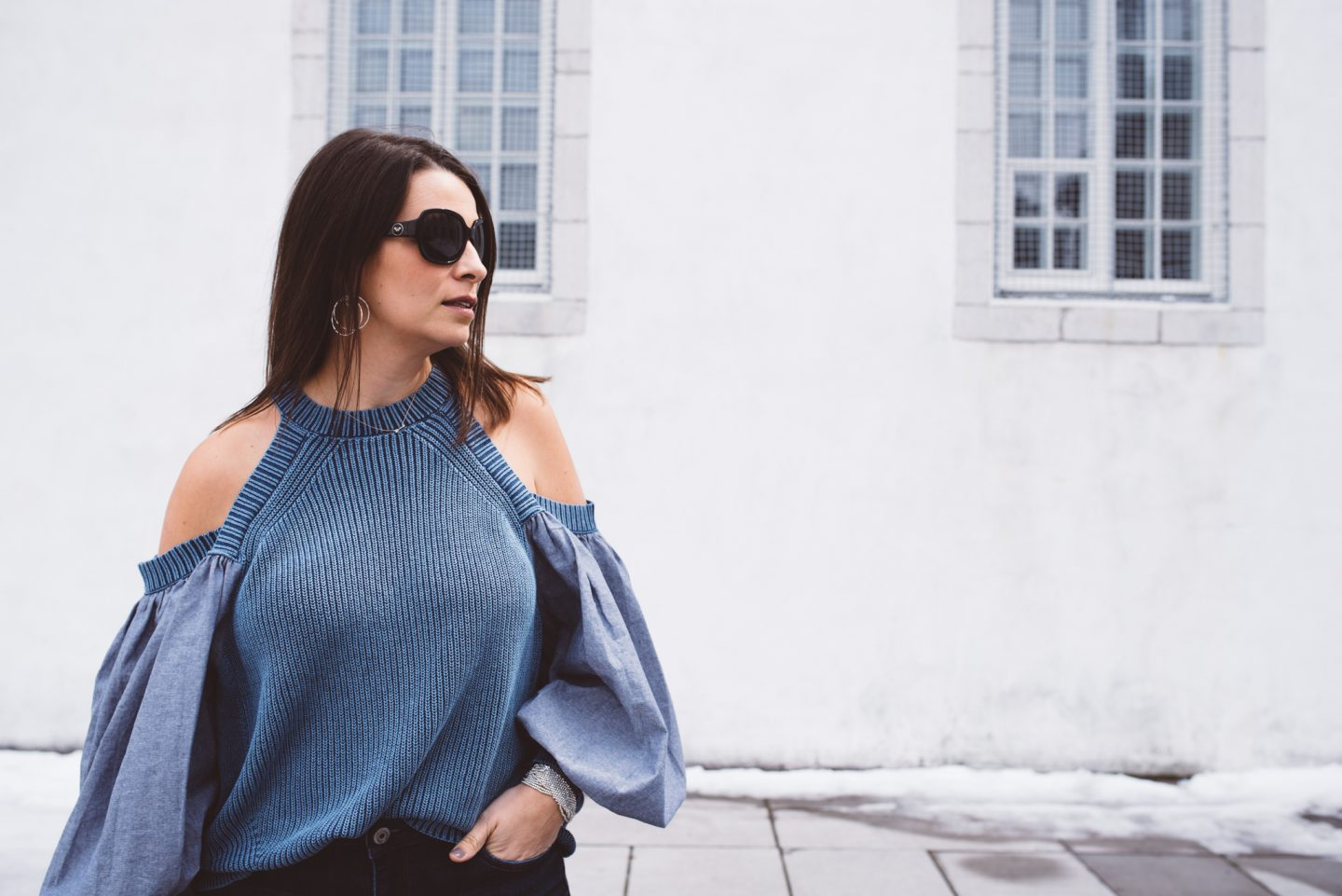 Statement Sleeves and Cold Shoulders!